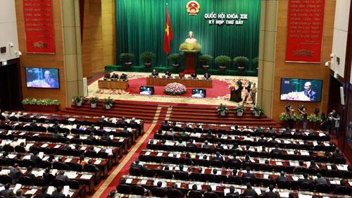 Toàn cảnh Kỳ họp thứ 7 Quốc hội khóa XIII